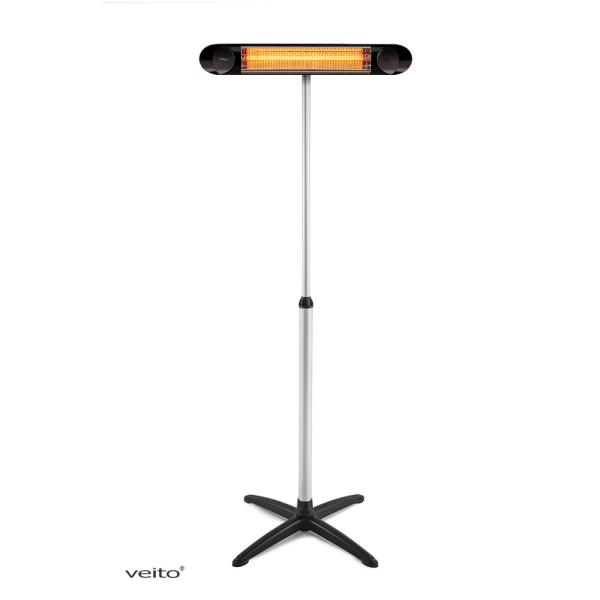 Veito Blade S - Black Edition mit Alu Ständer im Set